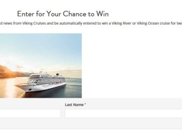 "Viking River Cruises ""2017 Q3"" Sweepstakes"