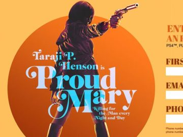 Sony Pictures PROUD MARY Sweepstakes