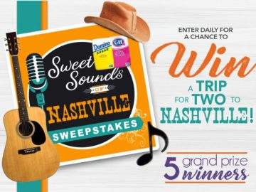 Domino Sugar Sweet Sounds of Nashville Sweepstakes