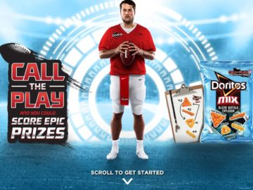 Doritos Mix Call the Play Instant Win Game – Code Required