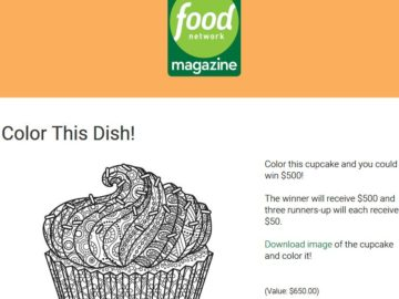 Network magazine color this dish contest food network magazine color this dish contest forumfinder Image collections