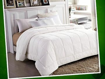 Win a Soft White Queen Comforter