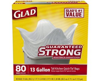 Win Glad ForceFlex Tall Kitchen Trash Bags