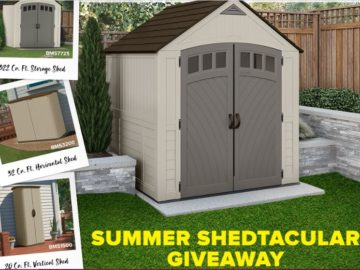 Suncast Corporation Summer Shedtacular Giveaway Sweepstakes