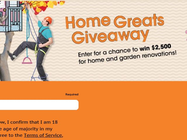Valpak Home Greats Giveaway Sweepstakes