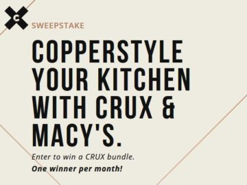 Copperstyle Your Kitchen Sweepstakes