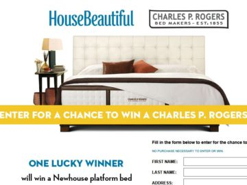 House Beautiful Charles P Rogers Sweepstakes