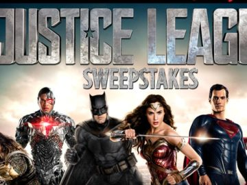 Spirit Halloween's Justice League Sweepstakes