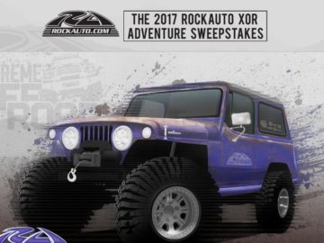 RockAuto XOR Adventure  Sweepstakes