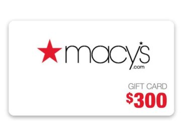 Macy's Gift Card! Sweepstakes