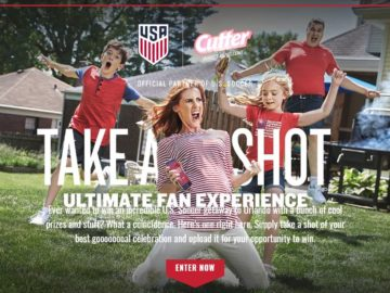 Cutter Soccer Match Contest and Giveaways Sweepstakes
