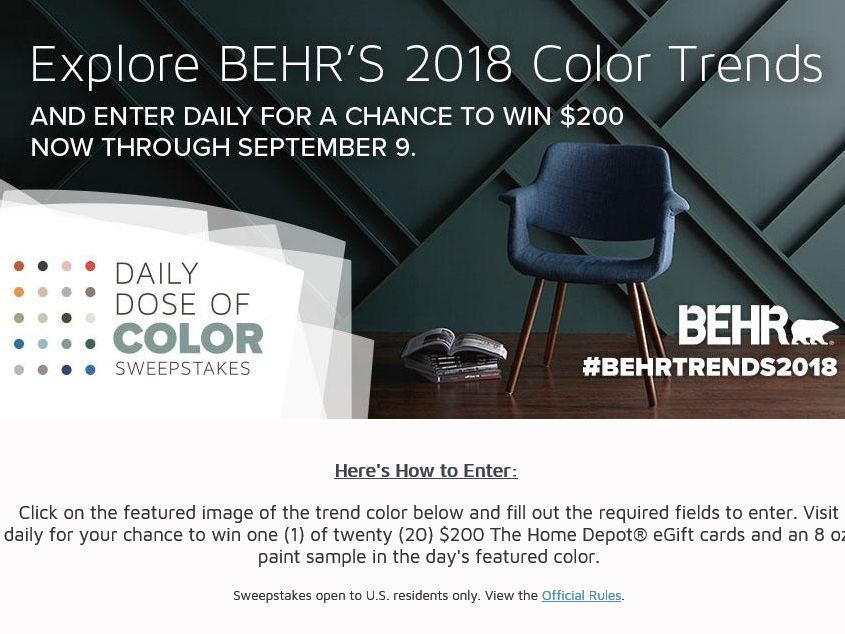 One day only sweepstakes daily