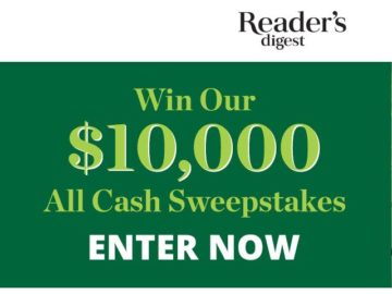 Reader's Digest All Cash Sweepstakes