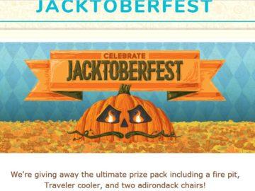 Traveler Jacktoberfest Sweepstakes