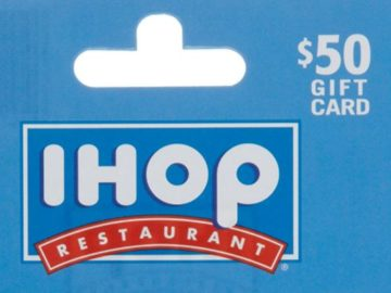 Win a $50 IHOP Gift Card!