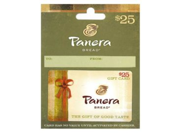Win a $25 Panera Gift Card