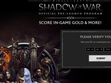 Totino's Middle-Earth: Shadow of War Official Pre-Launch Program Sweepstakes
