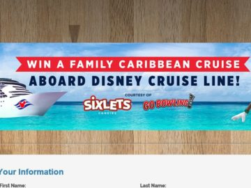Sixlets Family Caribbean Cruise Getaway Sweepstakes