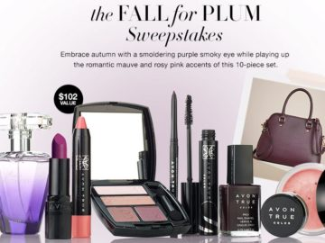 AVON Fall for Plum Sweepstakes