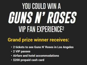 Pennzoil 2017 VIP Fan Experience Sweepstakes