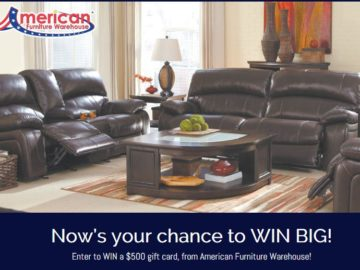 American Furniture Warehouse Sweepstakes