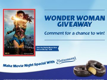 Entenmann's and Wonder Woman Promotional Giveaway Sweepstakes