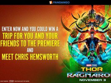 Fandango Thor: Ragnarok Sweepstakes