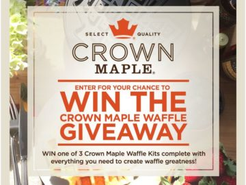 Crown Maple Waffle Giveaway Sweepstakes