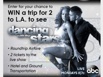 ABC Keep on Dancing Sweepstakes