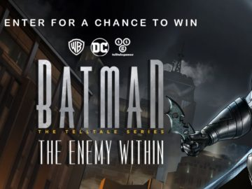 BATMAN: THE TELLTALE SERIES – THE ENEMY WITHIN Sweepstakes