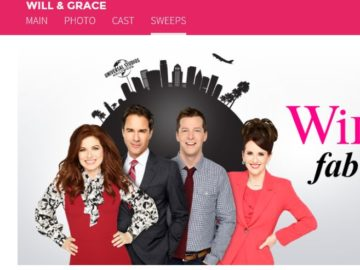 Will & Grace Fab Fan Escape Sweepstakes