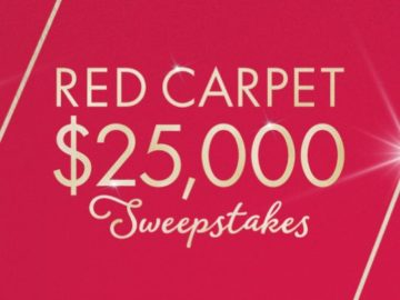 QVC Red Carpet Sweepstakes