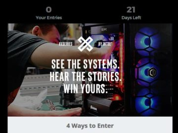 Newegg Intel #X-Series Giveaway