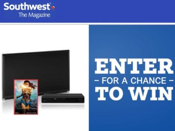 Southwest Magazine Wonder Woman Giveaway Sweepstakes