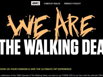 AMC We Are the Walking Dead Sweepstakes