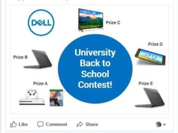 Dell University's Back to School Contest