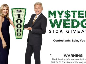 Wheel of Fortune My$tery $10K Giveaway Sweepstakes