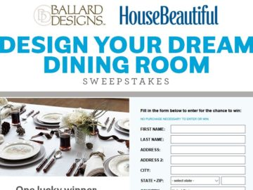 House Beautiful Sweepstakes Inspiration House Beautiful Ballard Designs Sweepstakes Review
