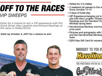Havoline Off To The Races Sweepstakes – Facebook