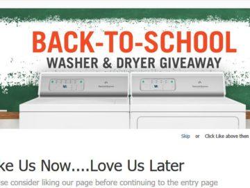 Speed Queen Washer & Dryer June Giveaway Sweepstakes – Facebook