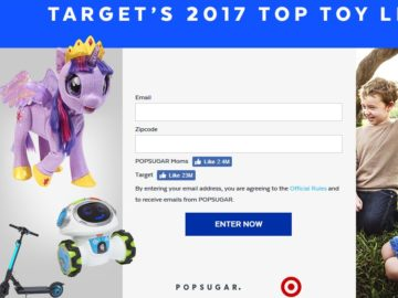 Target 2017 Top Toy List Sweepstakes