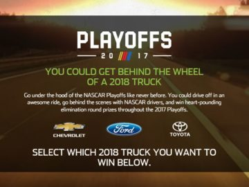 Monster Energy NASCAR Cup Playoffs Sweepstakes