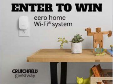 Crutchfield Eero Home Wifi Great Gear Giveaway Sweepstakes