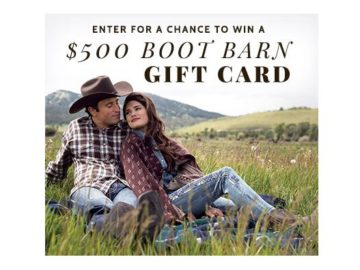 """Boot Barn """"New Fall Arrivals"""" Sweepstakes"""