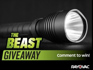 Rayovac Beast Comment to Win Giveaway Sweepstakes – Facebook