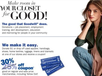 GOODWILL SALE Sweepstakes