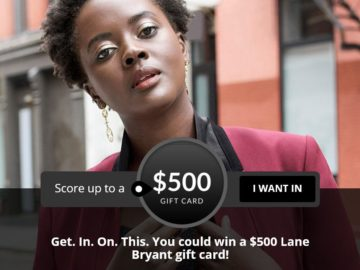 Lane Bryant, Inc. Gift Card Giveaway Sweepstakes