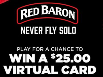Red Baron Pizza – Baroness Instant Scratch and Win Game