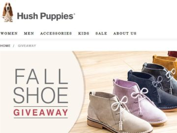 Hush Puppies Footwear 2017 Shoe Sweepstakes
