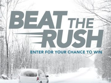 Discount Tires Beat the Rush Sweepstakes